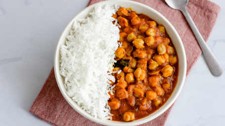 Vegan Three Bean Curry
