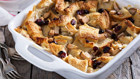 Coeliac friendly bread and butter pudding