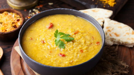 Lentil, Lemongrass and Coconut Dahl