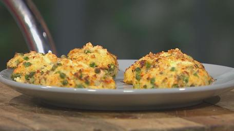 Pea and Feta Fishcakes