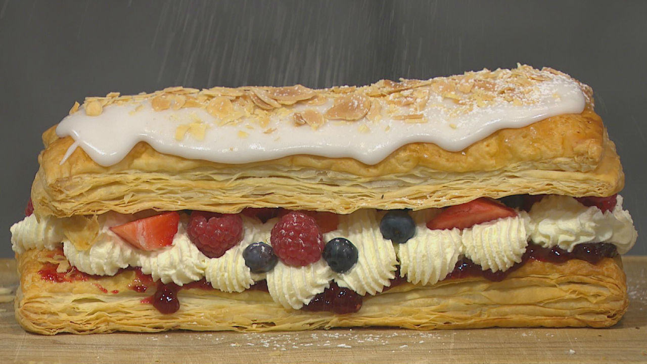 Fruit & Pastry Slices