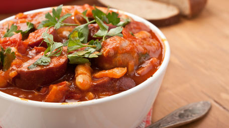 Pepper, Chorizo & Bean Stew