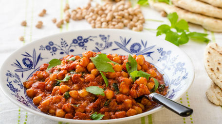 Punjabi Chickpea Curry