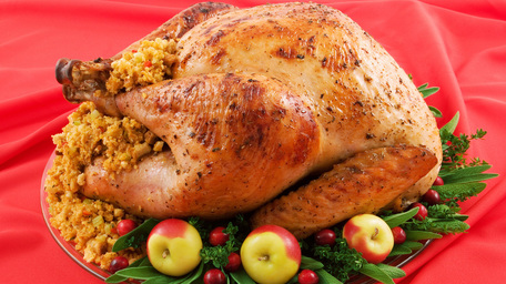 Edward's Buttered Turkey with Apple & Chestnut Stuffing