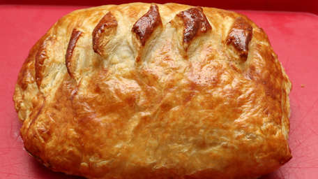 Baked Turkey & Ham Wellington