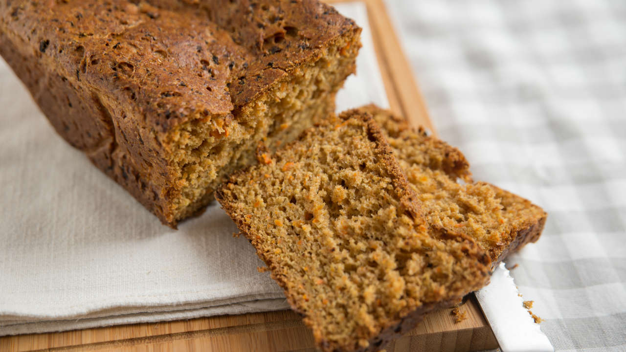 Wholemeal Carrot Loaf