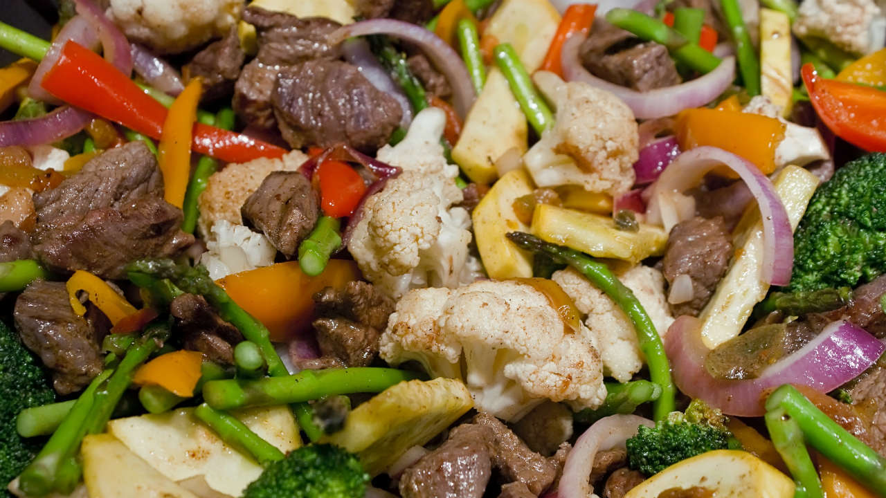 Joes Happy Monday Sticky Stir Fry Beef with Honey