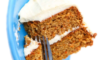 Walnut & Raisin Carrot Cake with Homemade Frosting