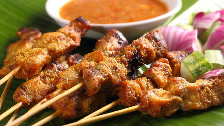 Summer Satay Lamb Skewers
