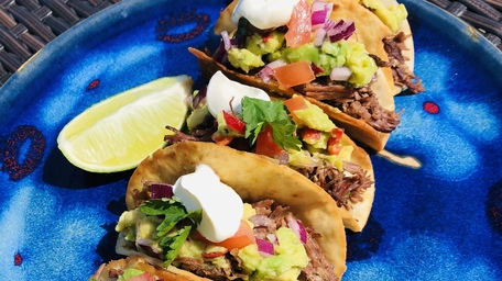 Stout Pulled Beef Tacos