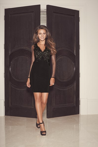 Michelle Keegan Unveils Winter Collection For Lipsy Fashion From