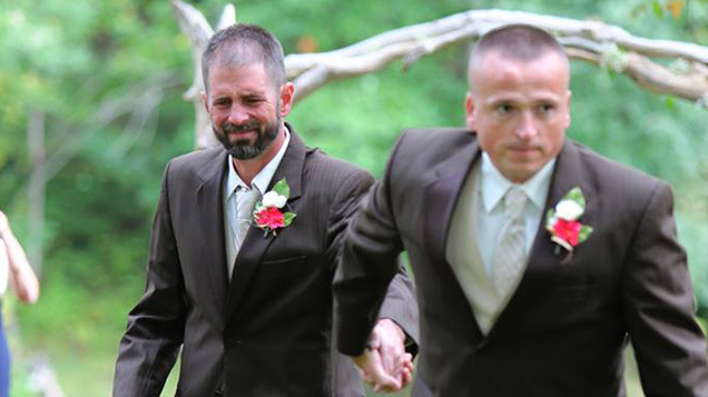 Father Of The Bride Stops Wedding So Stepdad Can Join Him Walking Daughter Up Aisle