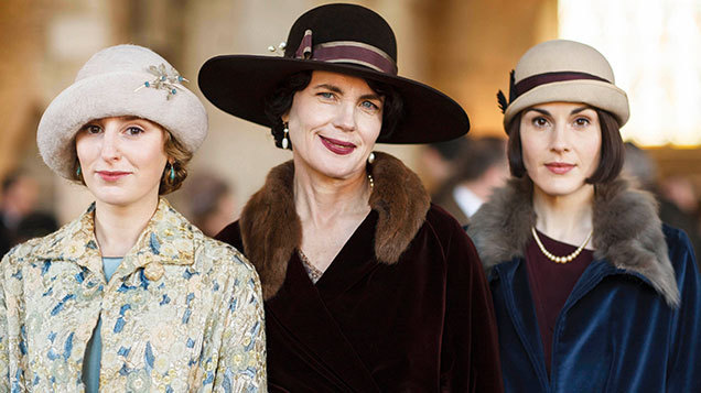 2059f6c3e02 The 1920 s style hats are coming back in a big way this Autumn Winter and  the women of Downton Abbey have been showcasing some stunning designs in  the ...