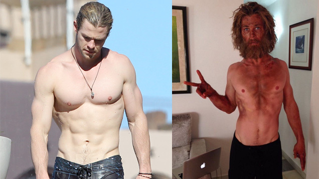 Chris Hemsworth?s Dramatic Weight Loss for New Movie ...