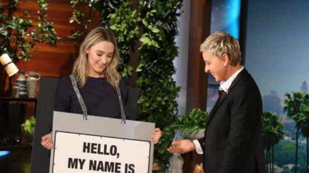 Saoirse Ronan Repeatedly Plugged A Dublin Nail Salon While On The Ellen Degeneres Show