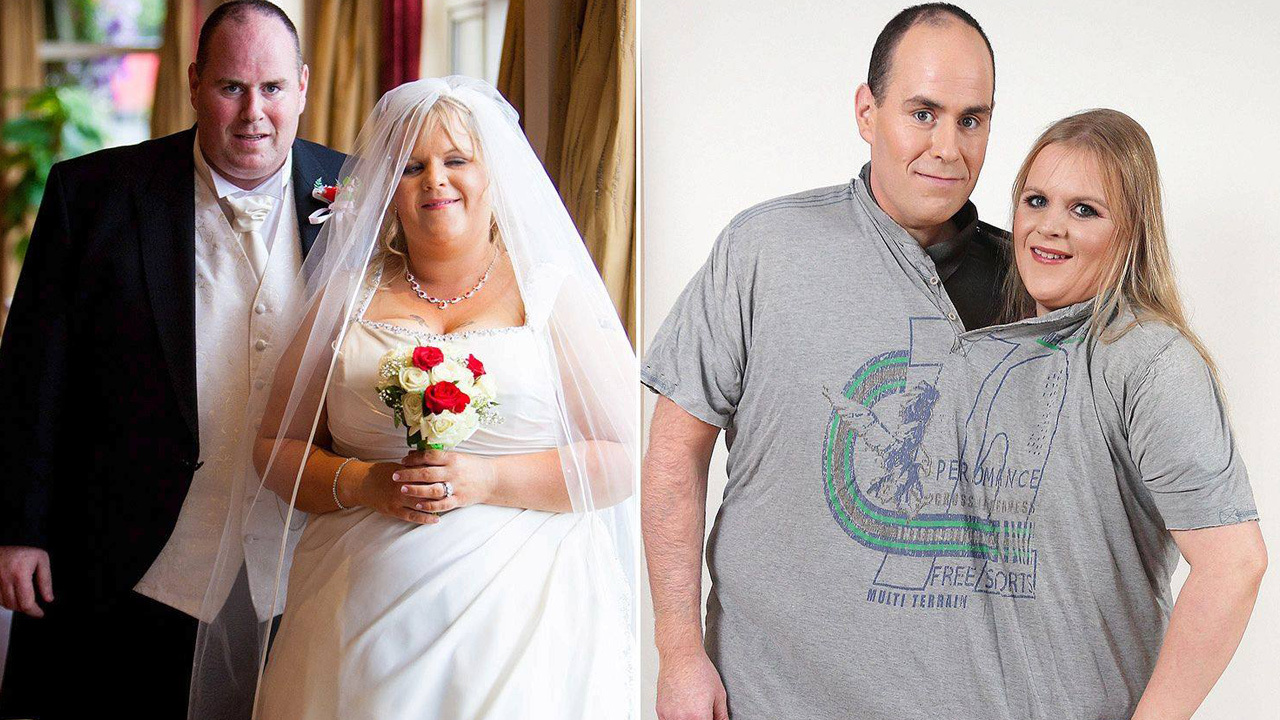 Wedding Weight Lose.Dublin Couple S Incredible 24 Stone Weight Loss After Wedding Photo