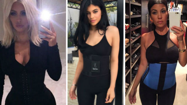 c3816240427 A waist training manufacturer whose product was made famous by the  Kardashian girls is being sued