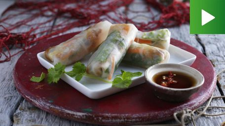 Vietnamese Spring Rolls: As featured on IRELAND AM with Edward Heyden