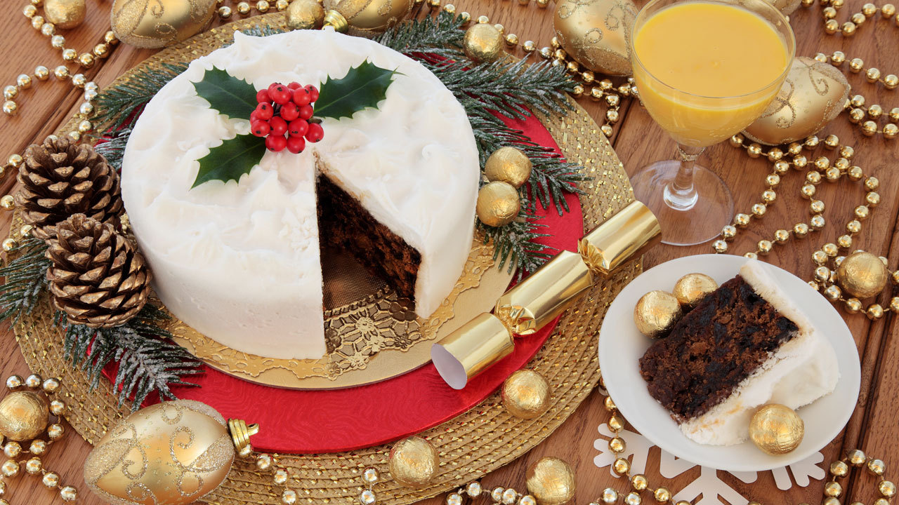 How to make christmas cake - Christmas Cake