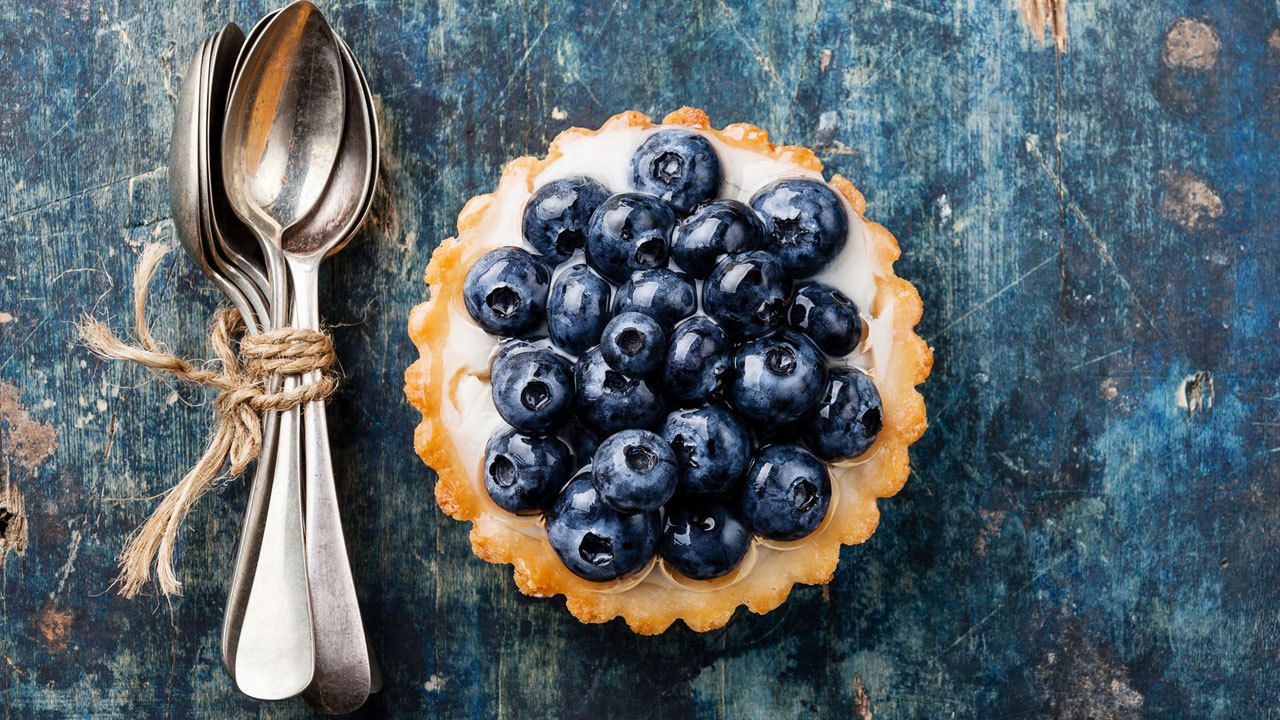 Healthy Berry Tarts