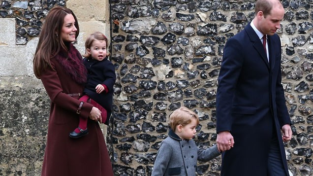 Pippa S Wedding.Pics Prince George And Princess Charlotte Look Adorable At Aunt
