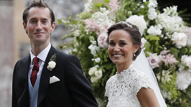 Kate Middleton Caught Scolding Cheeky Prince George at Pippa Middleton's Wedding