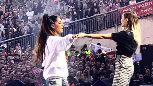 Ariana Grande Returns To Stage For Emotional Manchester Charity Gig