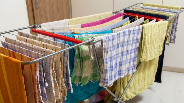 This Is Why You Should Stop Drying Your Clothes Indoors Immediately