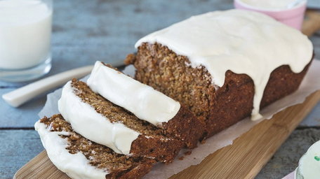 Catherine Leyden: Wholemeal Carrot Loaf