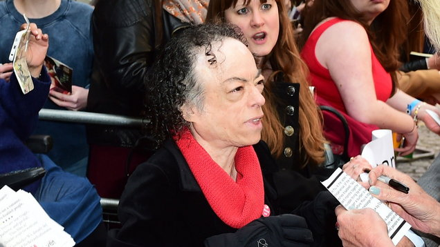 Liz Carr attacked with scissors