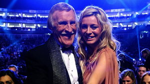 Tess Daly and Sir Bruce