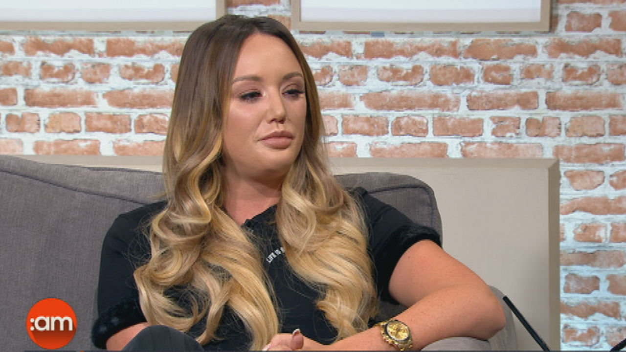 [WATCH] Charlotte Crosby gets emotional as she thanks fans for their support on Ireland AM