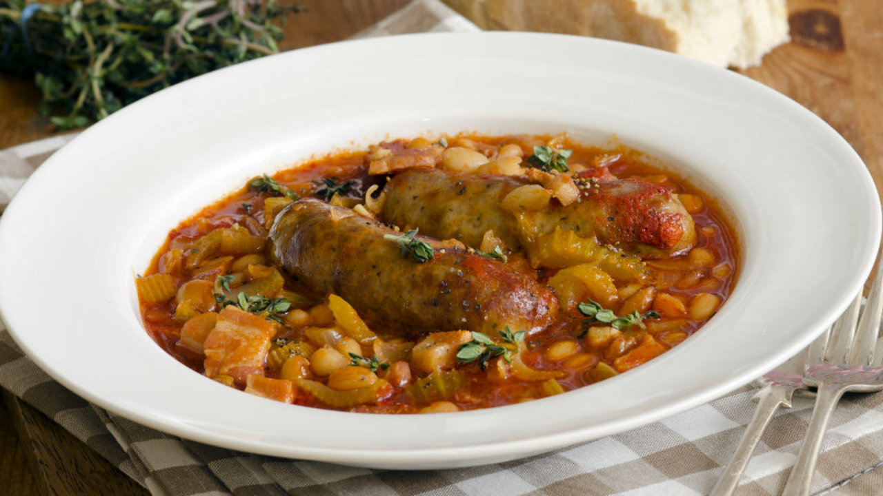 Chorizo and Bean Cassoulet