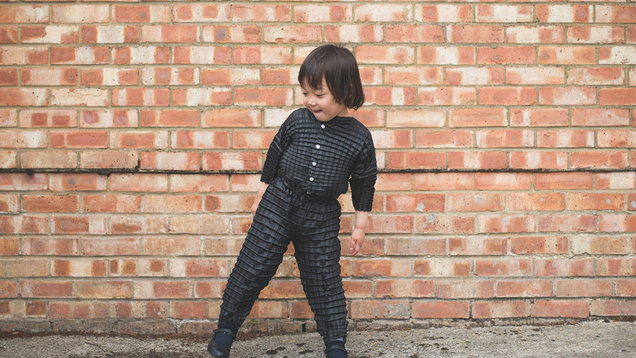 Origami-inspired clothes that grow with your child