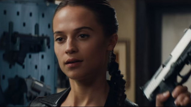 Tomb Raider Trailer: Alicia Vikander is Lara Croft!