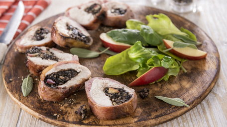 Clonakilty Black Pudding Stuffed Chicken Breast
