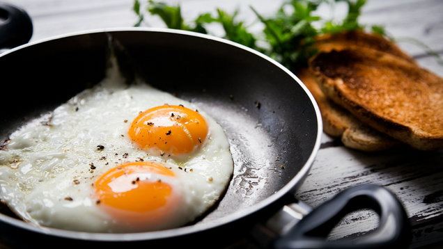 Fried eggs and toasted bread (Thinkstock/PA)