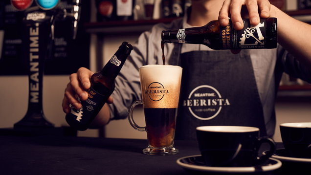 Meantime Brewing Company has teamed up with Nude Espresso Roaste