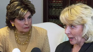 Gloria Allred and Heather Kerr