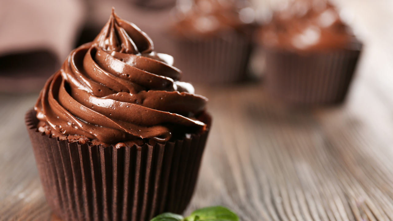 Chocolate Centred Cupcakes