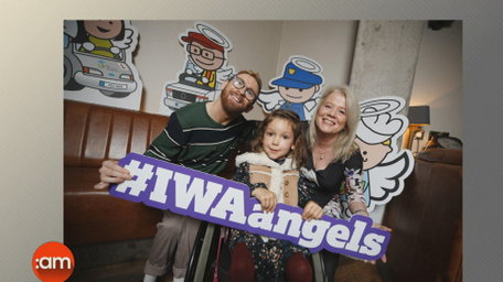 Irish Wheelchair Association Angels Campaign