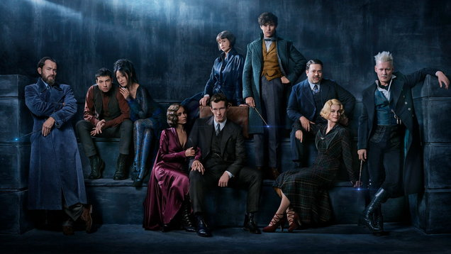 See the first image and title for the Fantastic Beasts sequel