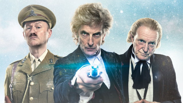 Look Scene From BBC America's 'Doctor Who' Christmas Special