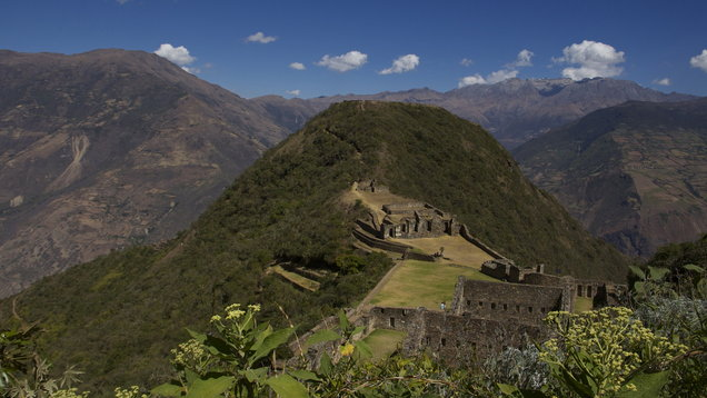 Choquequirao, Cradel of Gold, Inca Site Peru