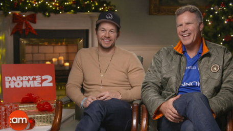 Ciara chats to Will Ferrell and Mark Wahlberg