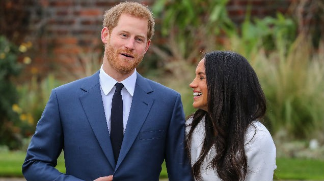 Britain's Prince Harry says thrilled at engagement to USA actress Markle