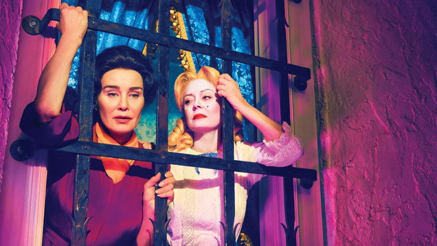 Jessica Lange and Susan Sarandon in Feud: Bette And Joan
