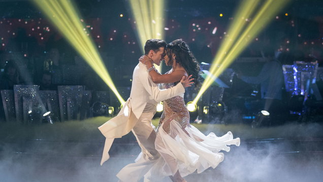 Alexandra Burke shakes off tough week to top Strictly semi-final leaderboard