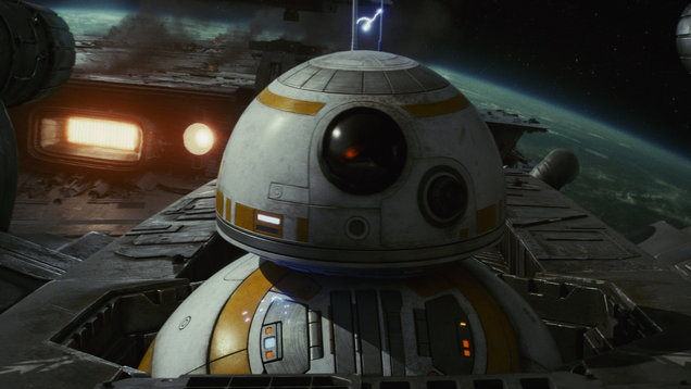 BB8 in The Last Jedi