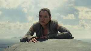 Daisy Ridley in The Last Jedi (Lucasfilm/Disney/PA)